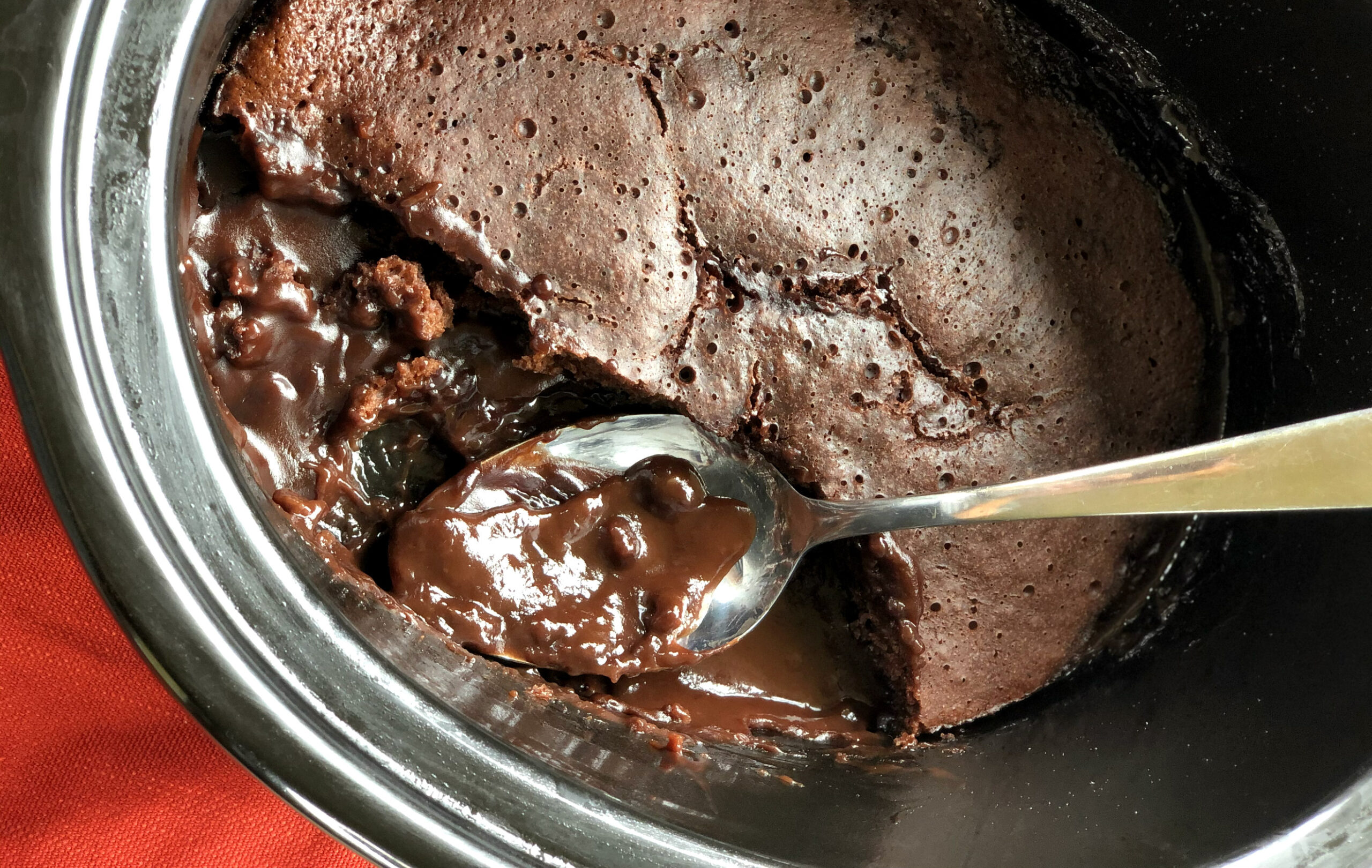 Just Slow Cooker Recipes Chocolate Self Saucing Pudding